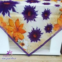 چارقد رنگ روشن سنتی ترکمنی
