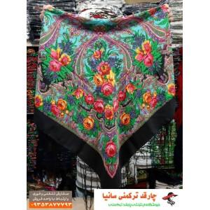خرید چارقد خوش نگار ترکمنی سانیا
